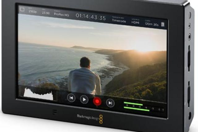 Alquiler de Blackmagic Video Assist 4K